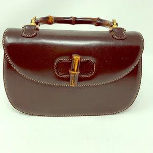Gucci Bamboo Handbag! Vintage.